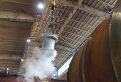 Eineisen Tragzapfen Stahlgießpfanne