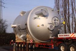 Transport of reactor