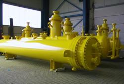 Chlorine gas vaporiser