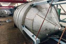 Duplex steel tank