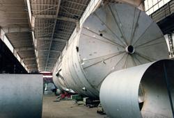 Pre-assembly duplex steel tank