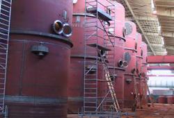 Vaporiser final inspection
