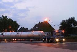 Transport of column