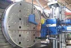 Bearbeitung Filterboden