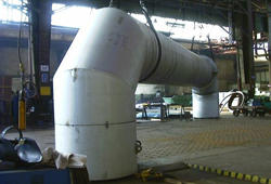 Vorfertigung Gasleitung