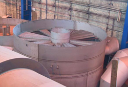 Pre-assembly of contact vessel parts