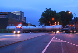 Transport of column