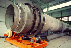 Rotary kiln Incoloy 800 H